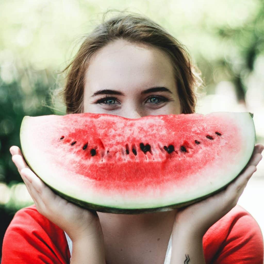 Mår bra med vattenmelon