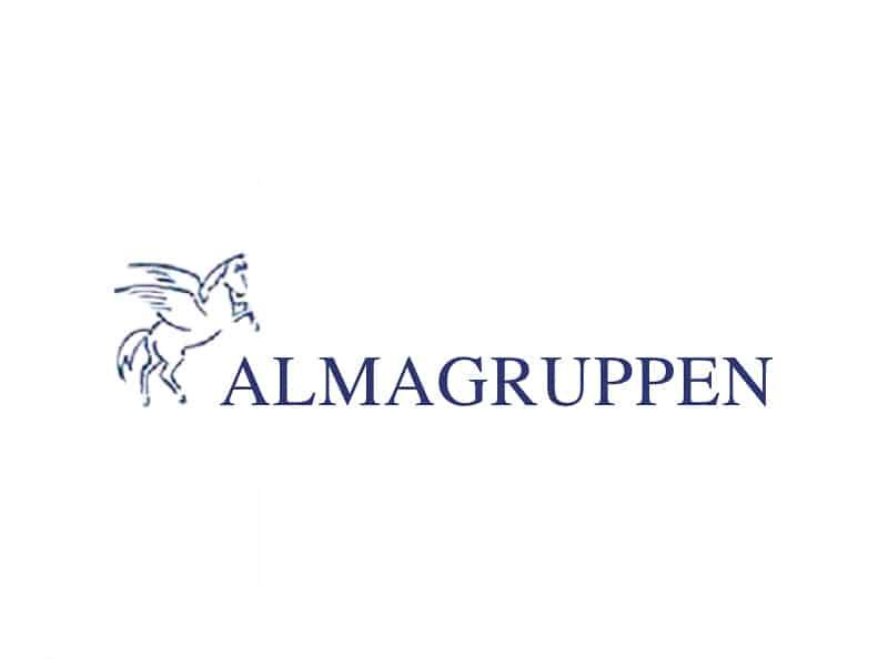 Almagruppen logga
