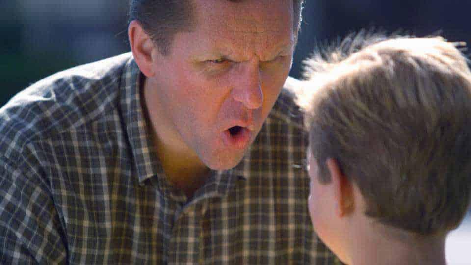 En arg förälder