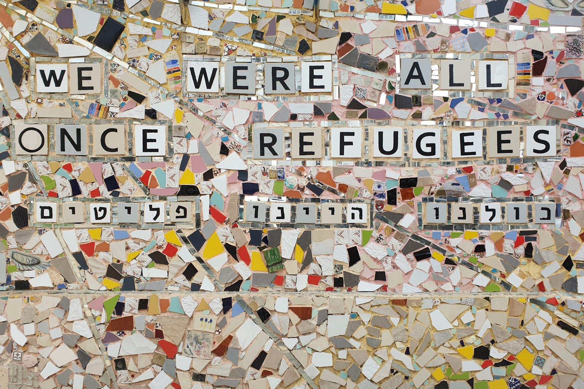 Vi är alla flyktingar